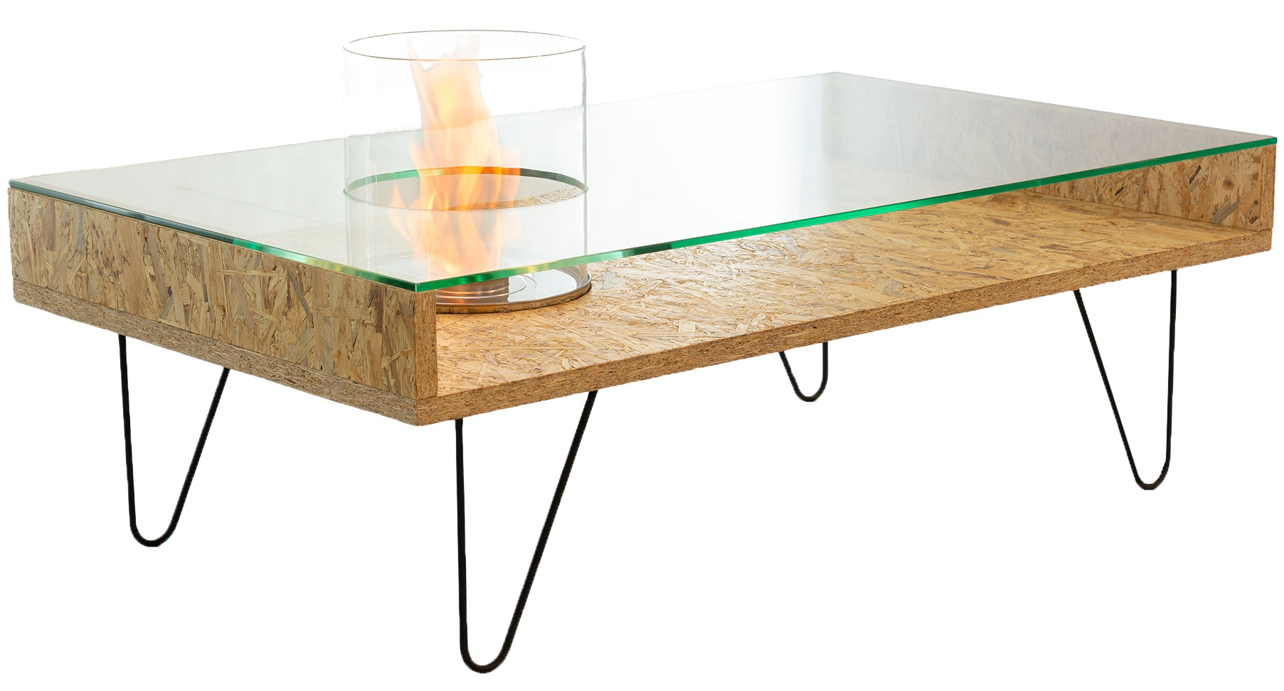 Биокамин Planika Fire Coffee Table OSB